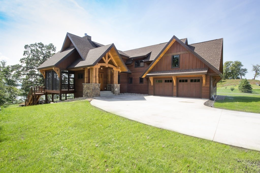 Timber Frame Home with Enercecpt SIPS walls and roof package