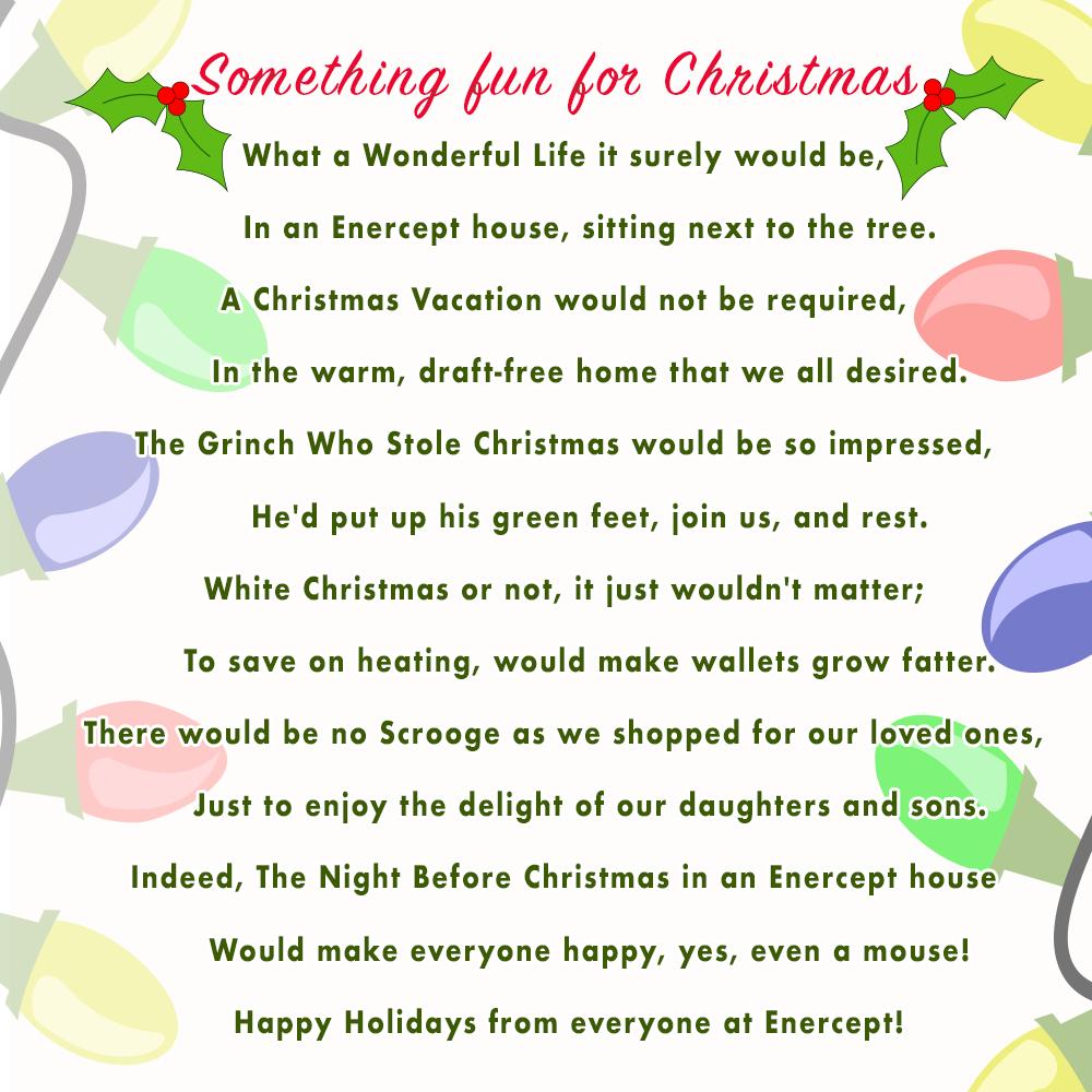 AnEnercept Christmas Story
