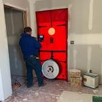 Blower door 2