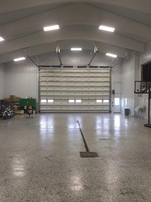 Farm Machinery Building