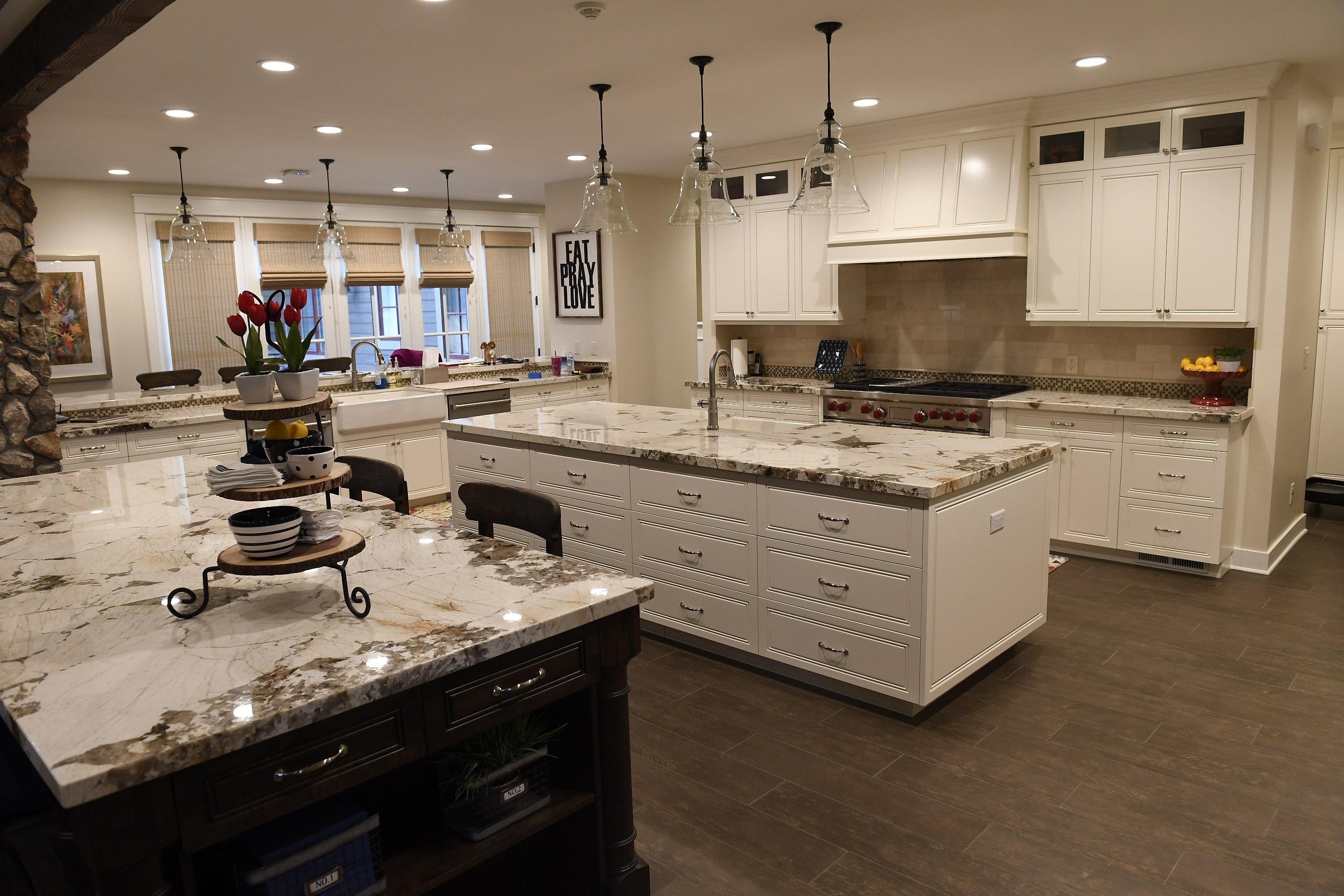 Custom Family Lodge kitchen