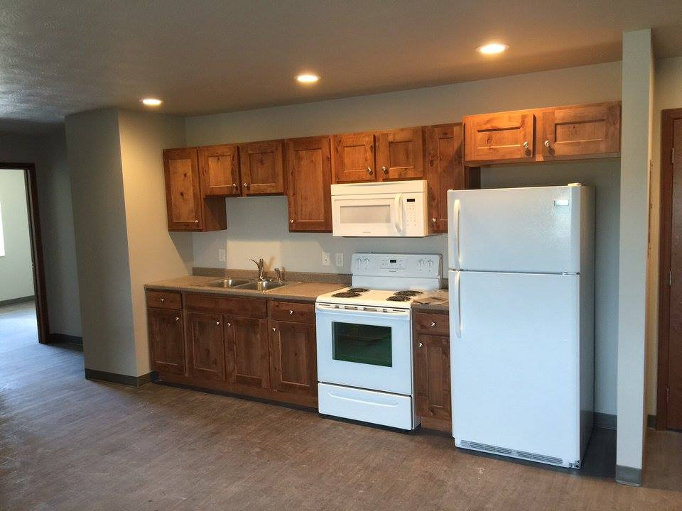 Lake Area Suites kitchen