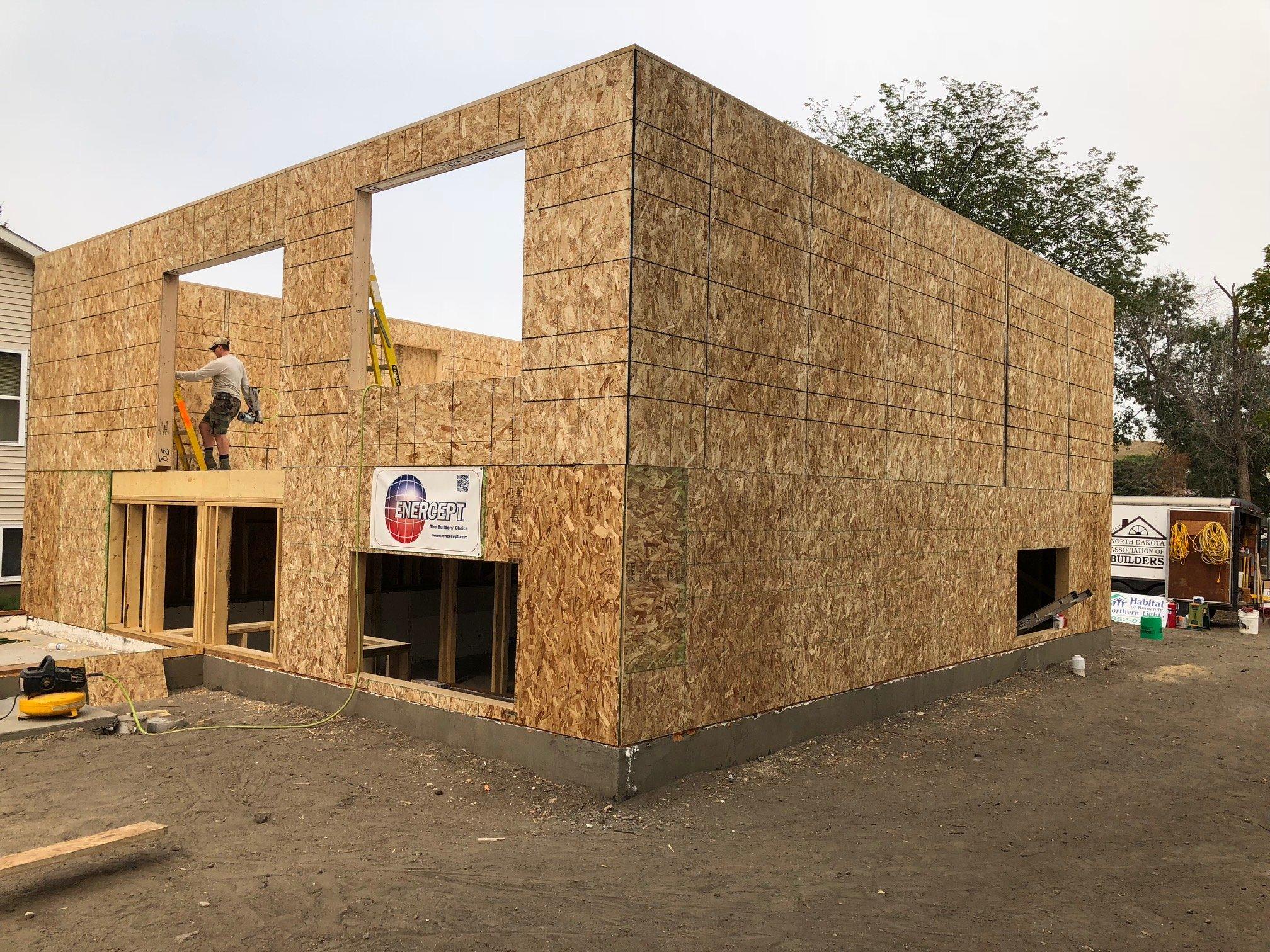 Habitat house Minot, ND