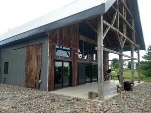 Barn to home renovation