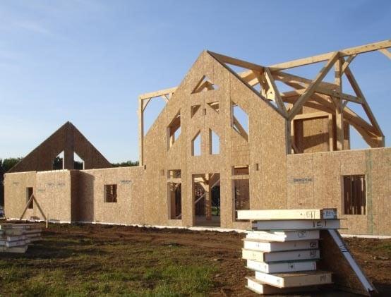 Enercept SIPs on Timber Frame