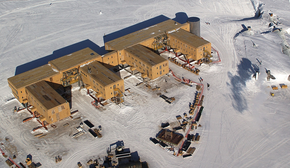 south pole science station - wrapped in SIPS