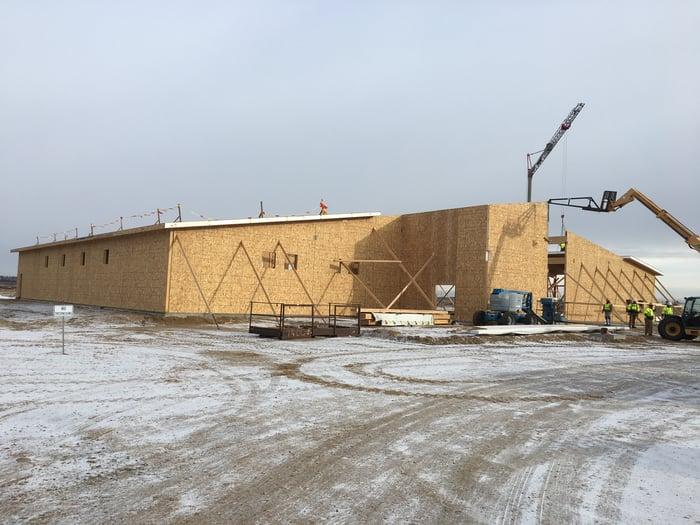 Travs construction