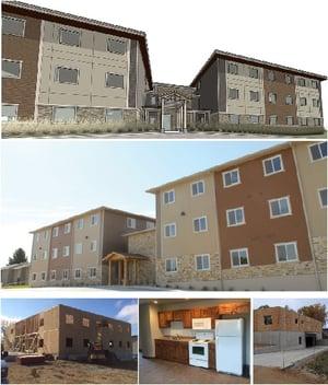 Multi-family jurrens apartment