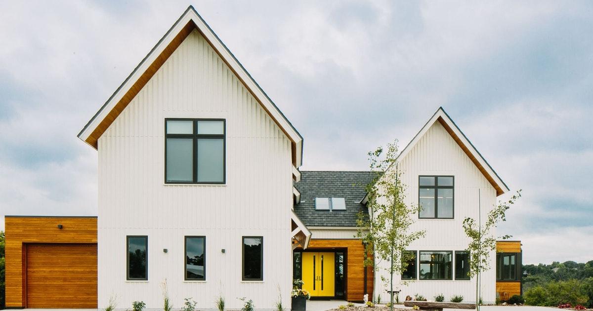 Modern Design SIP Farmhouse