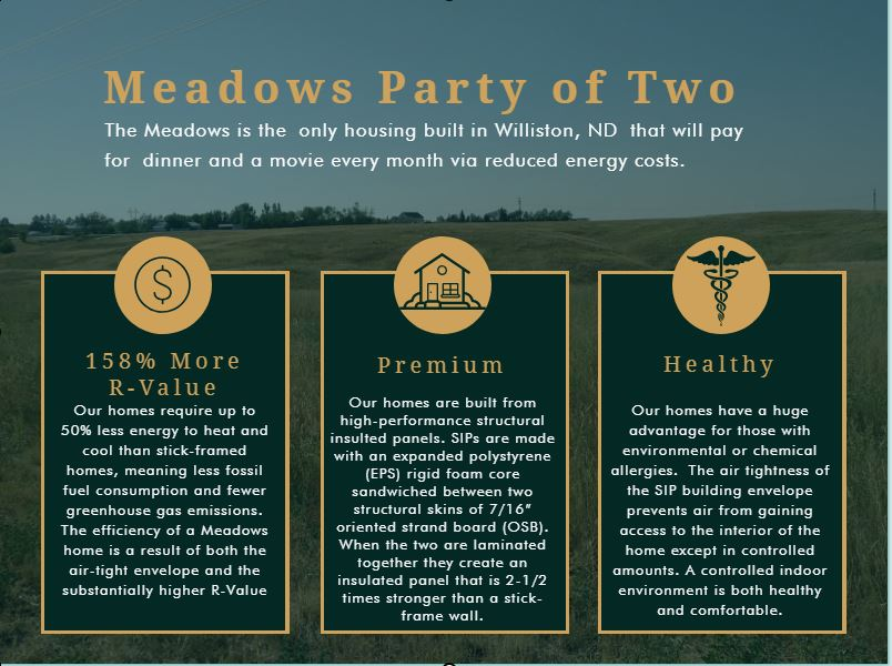the meadows dinner and a movie
