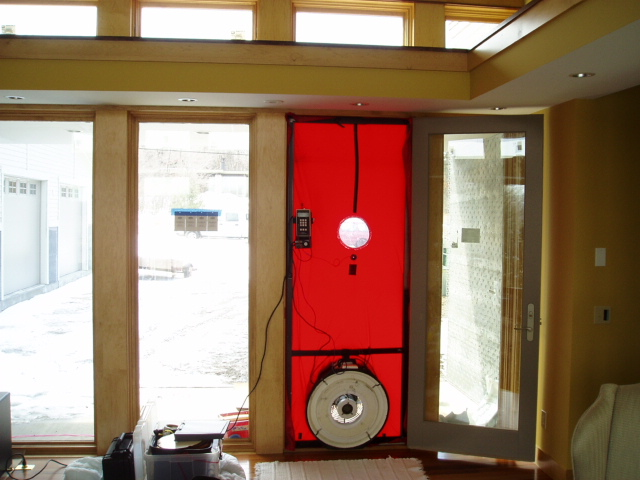 Benefits of Blower Door Tests At Different Stages of SIP Construction