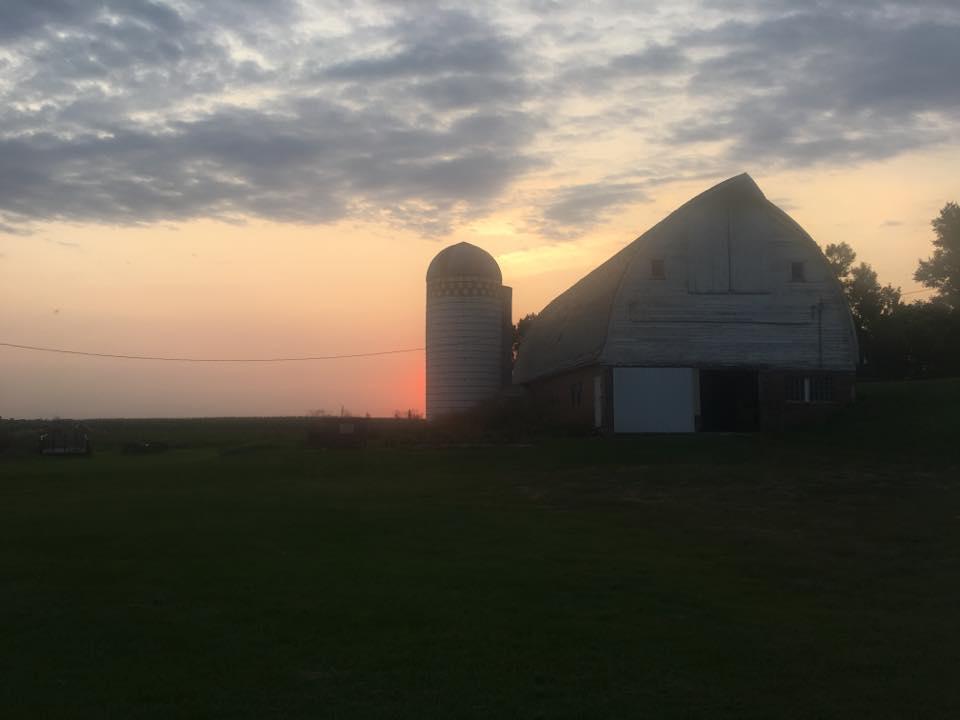 Snyder Barn Sunset