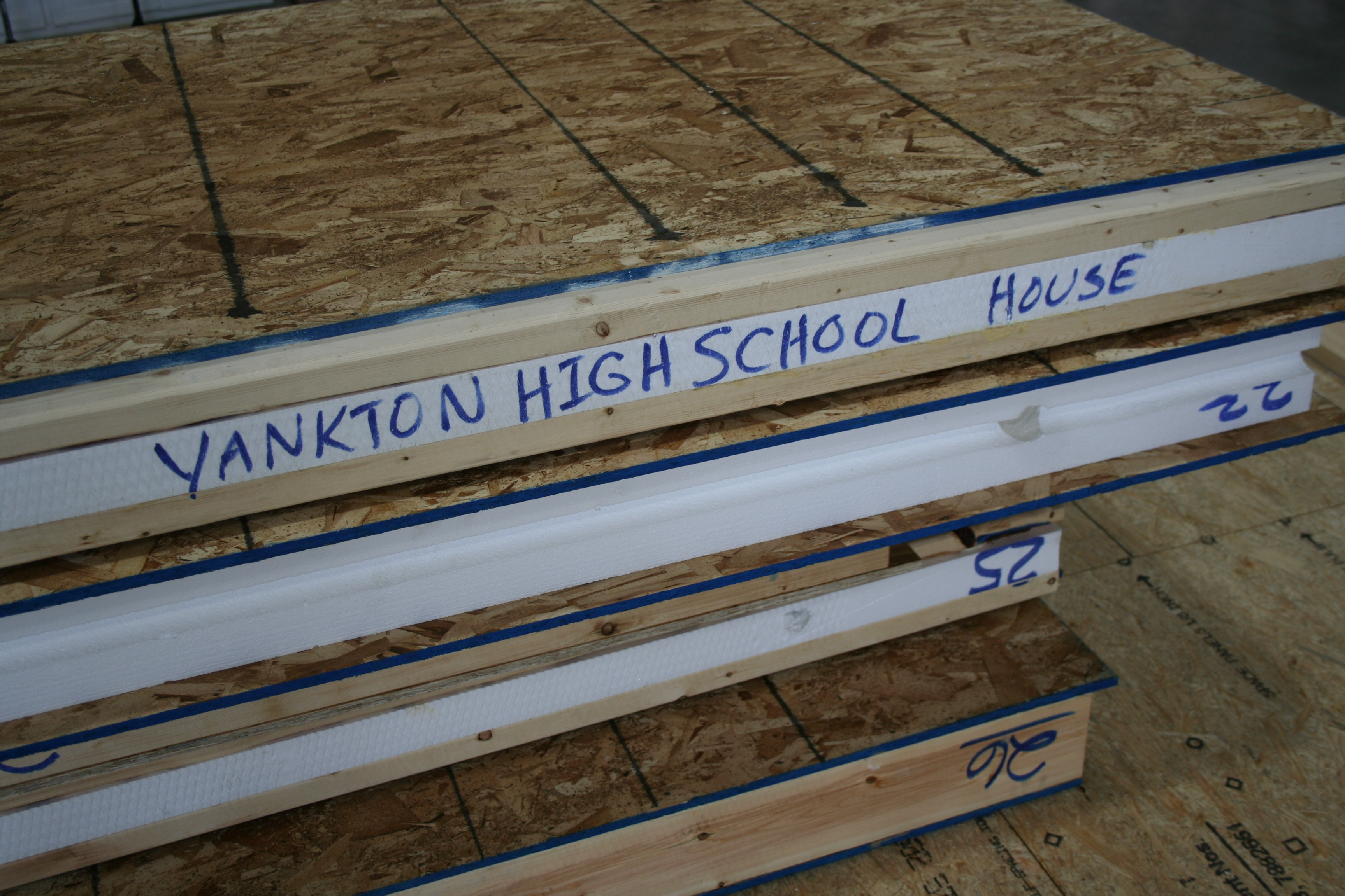 High School Building Trades Students Meet the Future of Framing
