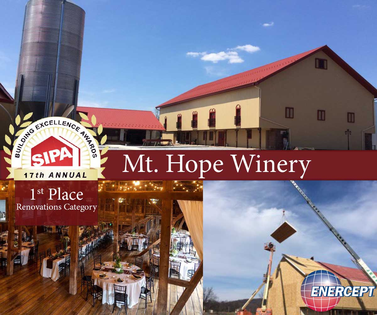 Enercept is Building Excellence: Mt. Hope Winery
